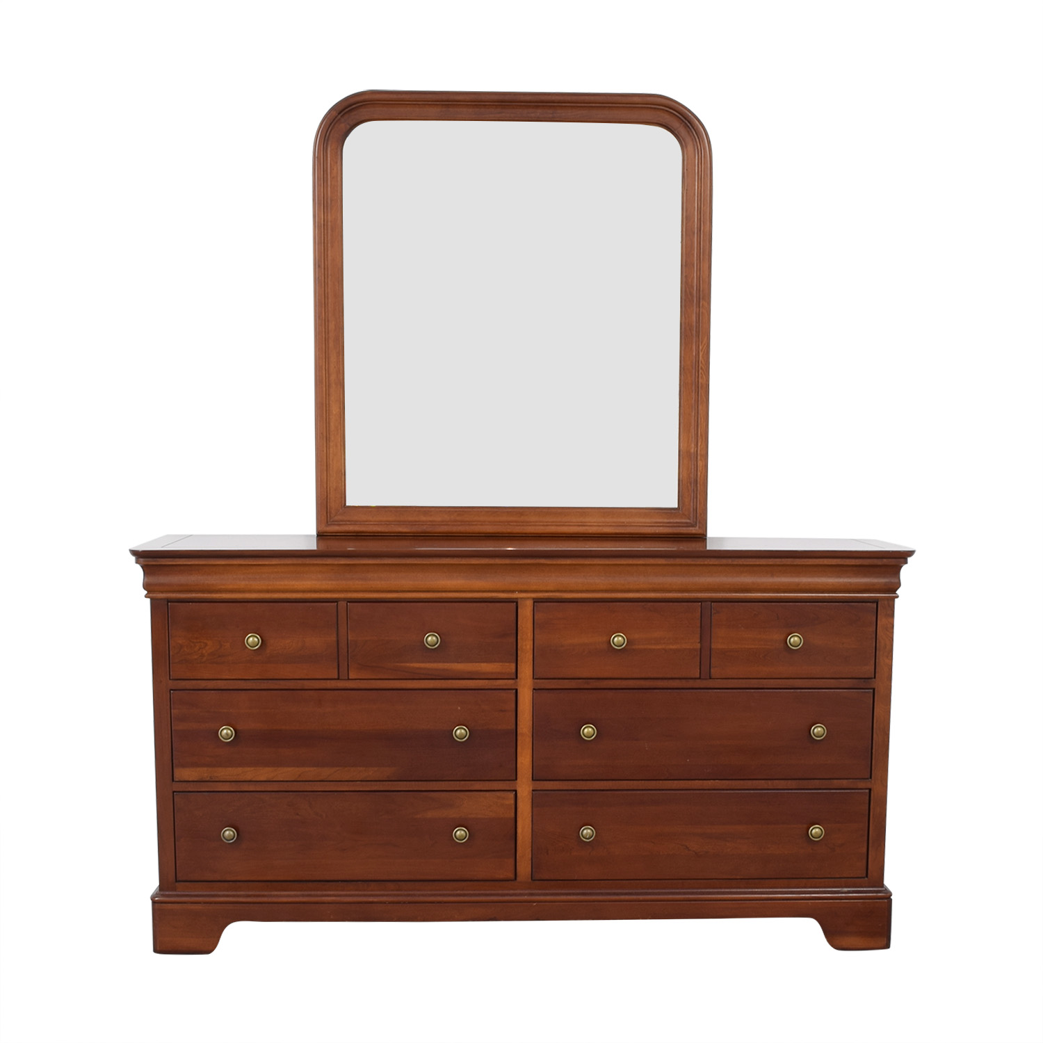 Stanley Furniture Dresser with Mirror / Storage