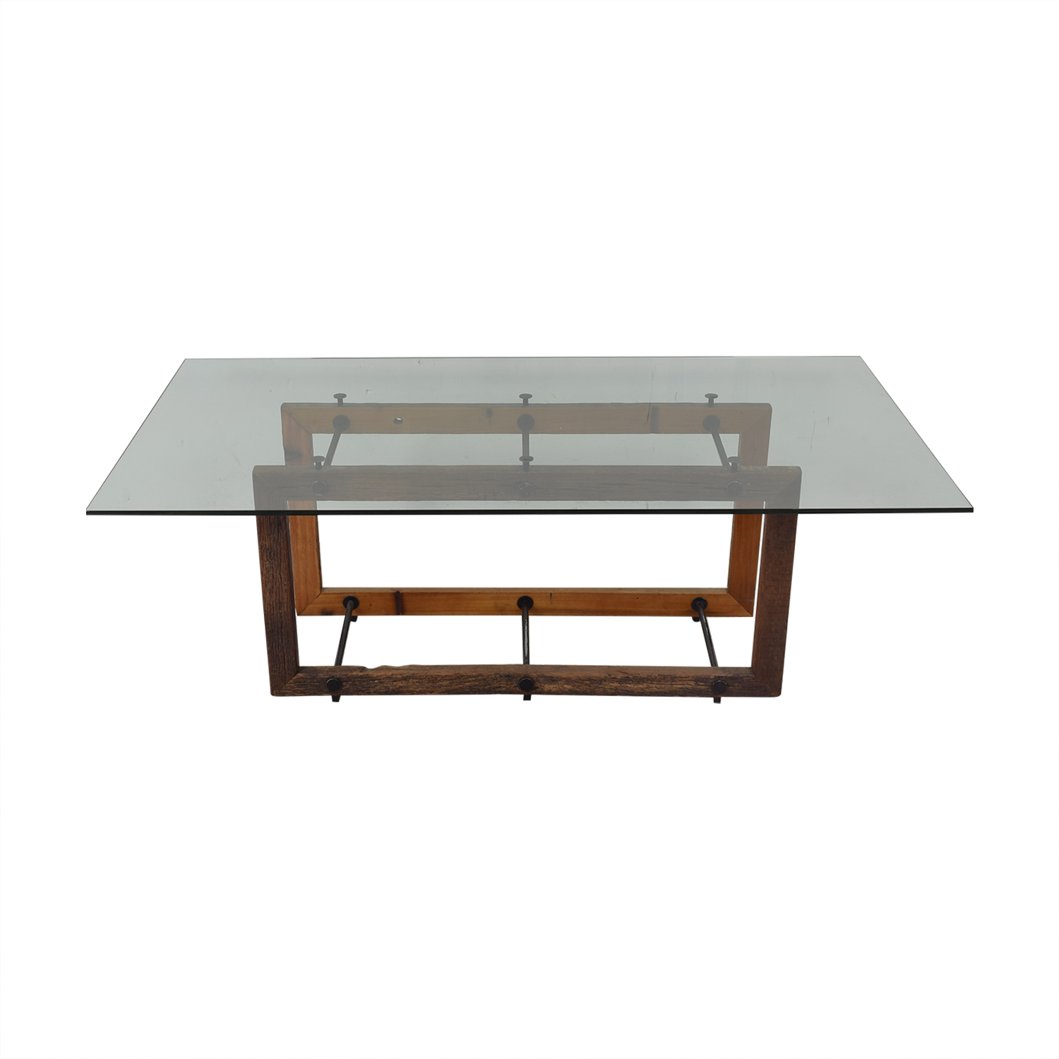 ABC Carpet & Home ABC Carpet & Home Glass Dining Table discount