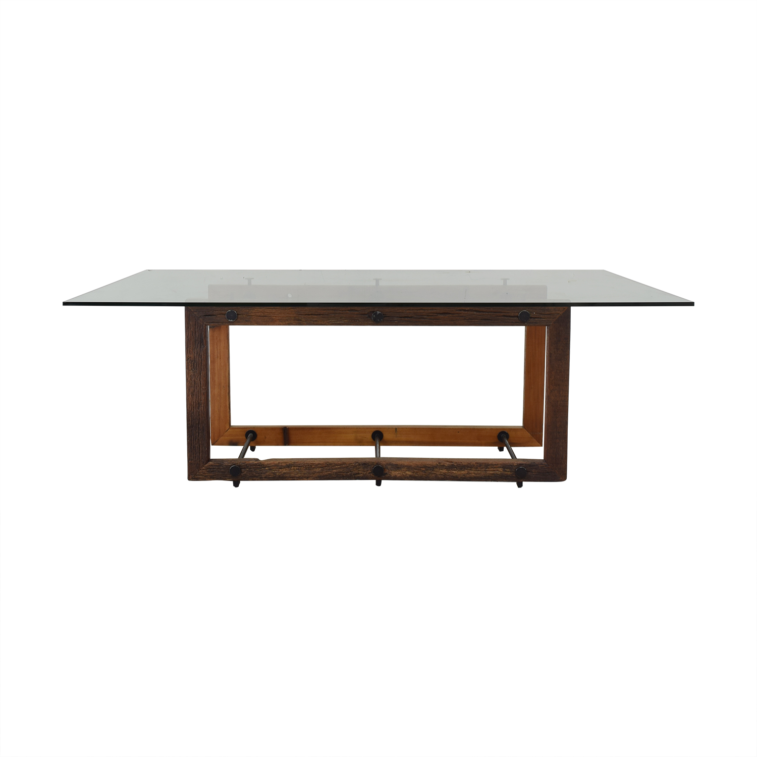 ABC Carpet & Home ABC Carpet & Home Glass Dining Table Tables