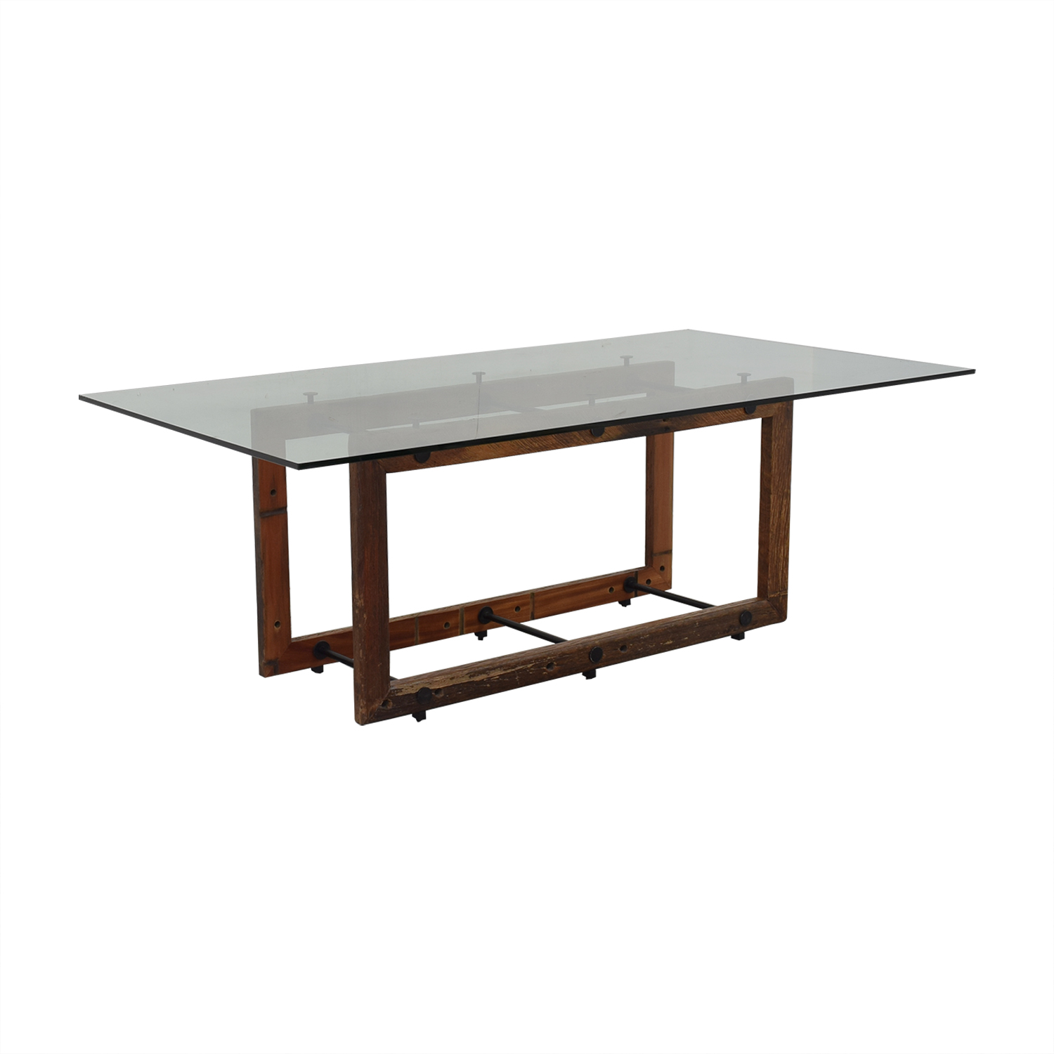 ABC Carpet & Home Glass Dining Table / Dinner Tables
