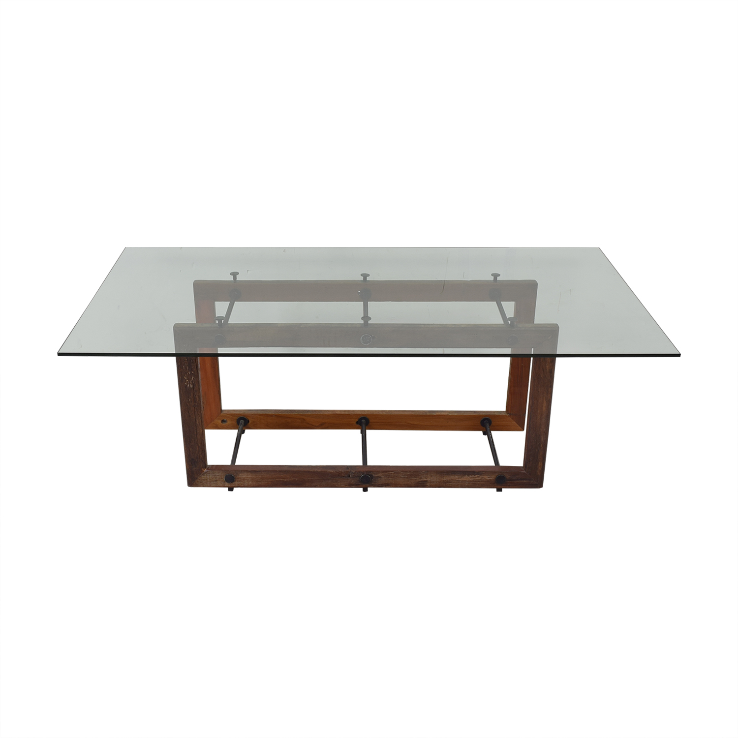 ABC Carpet & Home ABC Carpet & Home Glass Dining Table dimensions