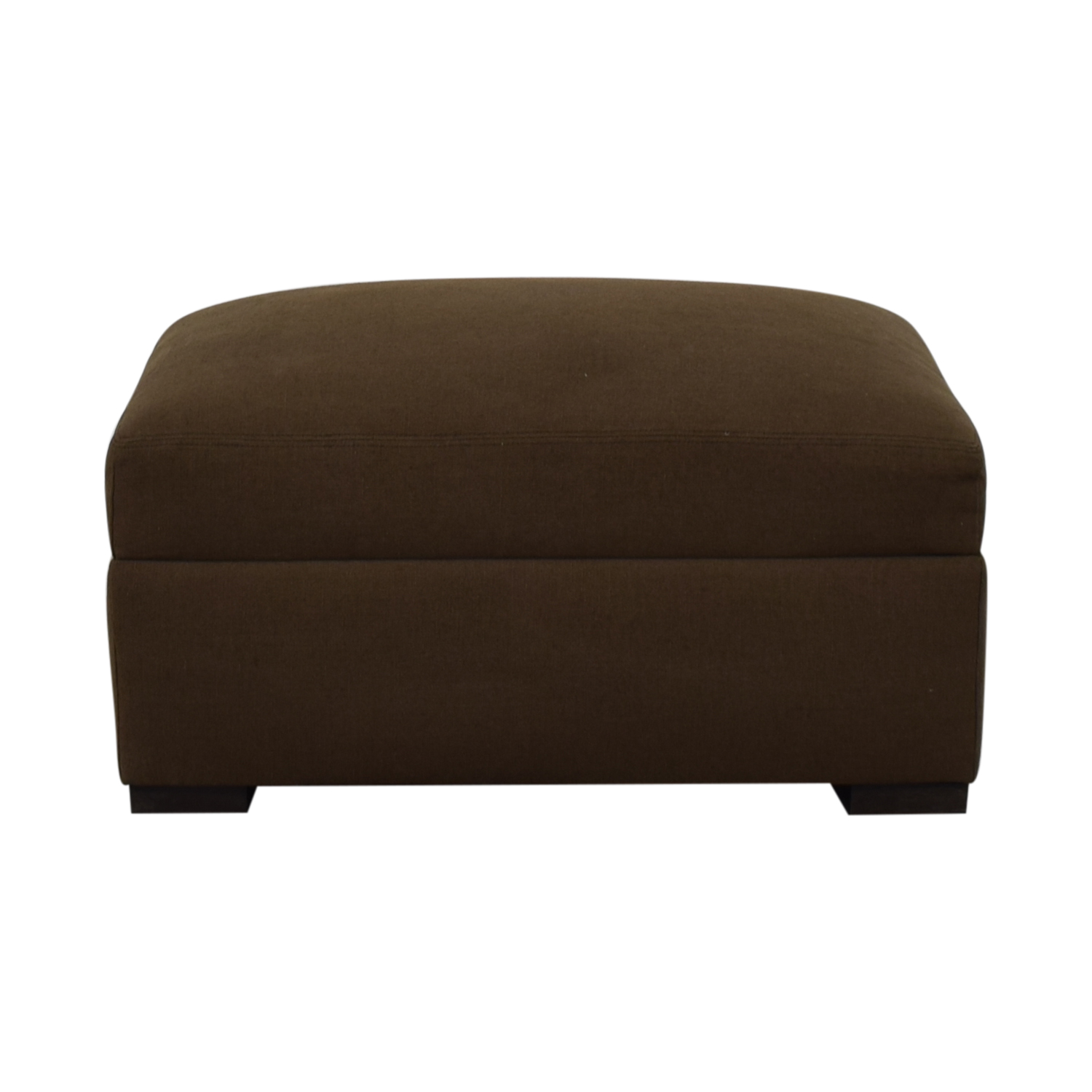 buy Restoration Hardware Fabric Ottoman Restoration Hardware Ottomans