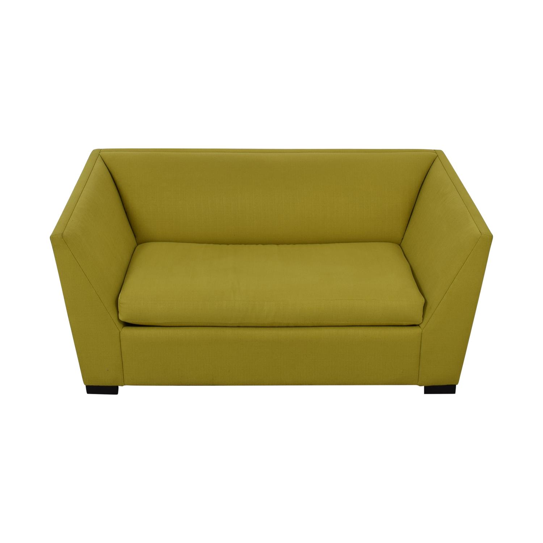 Stupendous 78 Off Cb2 Cb2 Twin Sleeper Loveseat Sofas Beatyapartments Chair Design Images Beatyapartmentscom