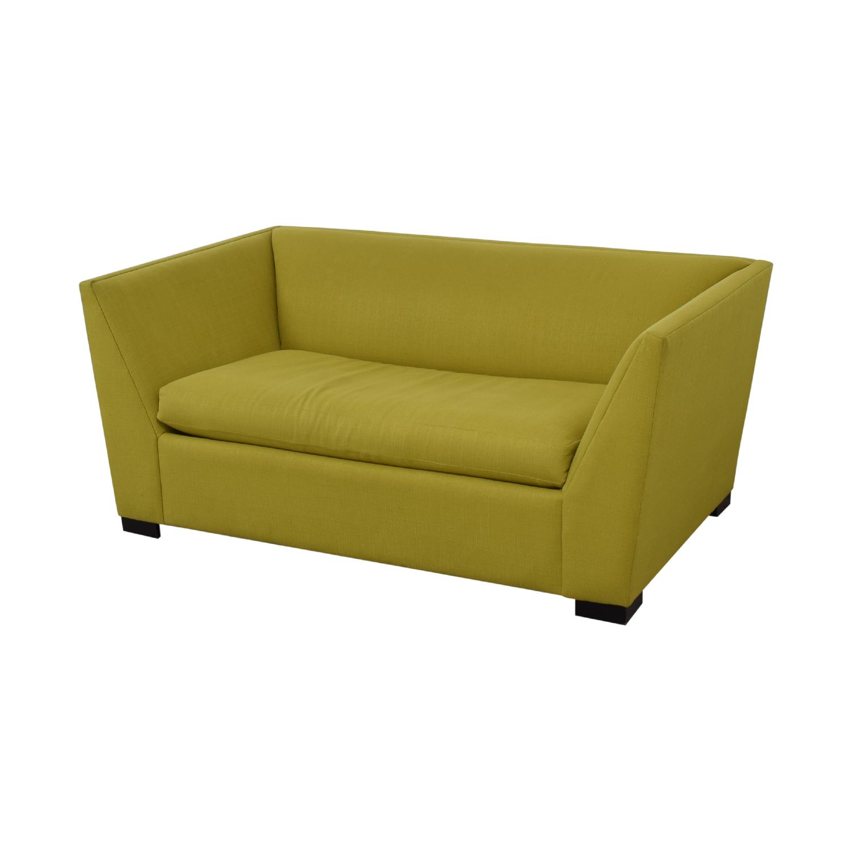CB2 CB2 Twin Sleeper Loveseat Sofa Beds