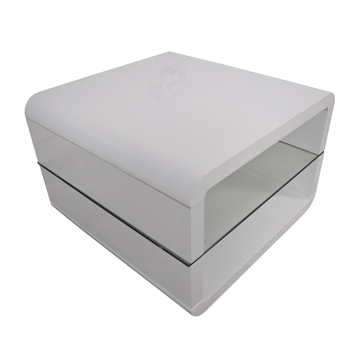 Coaster Fine Furniture Coaster Glossy White End Table nyc
