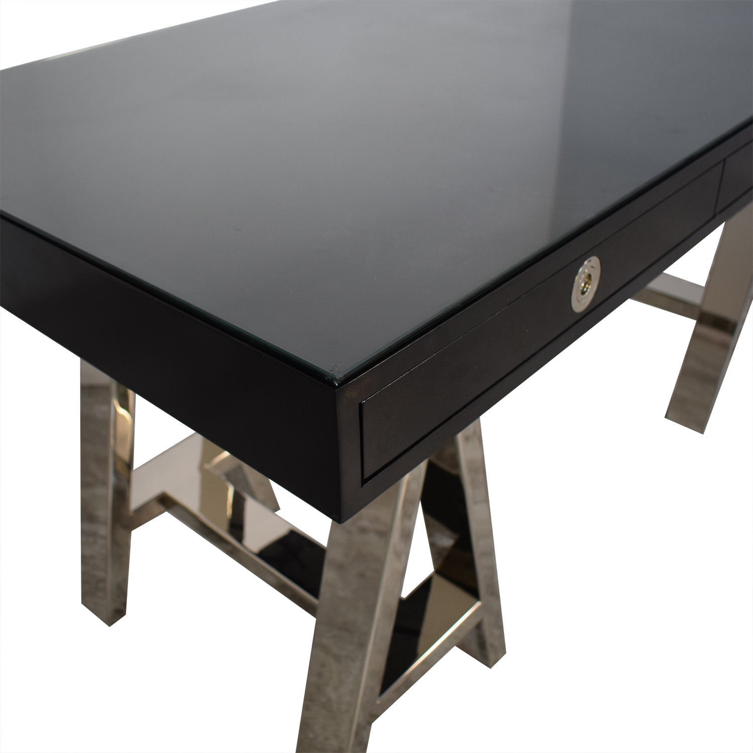 Williams Sonoma Mason Wood Top Desk / Tables
