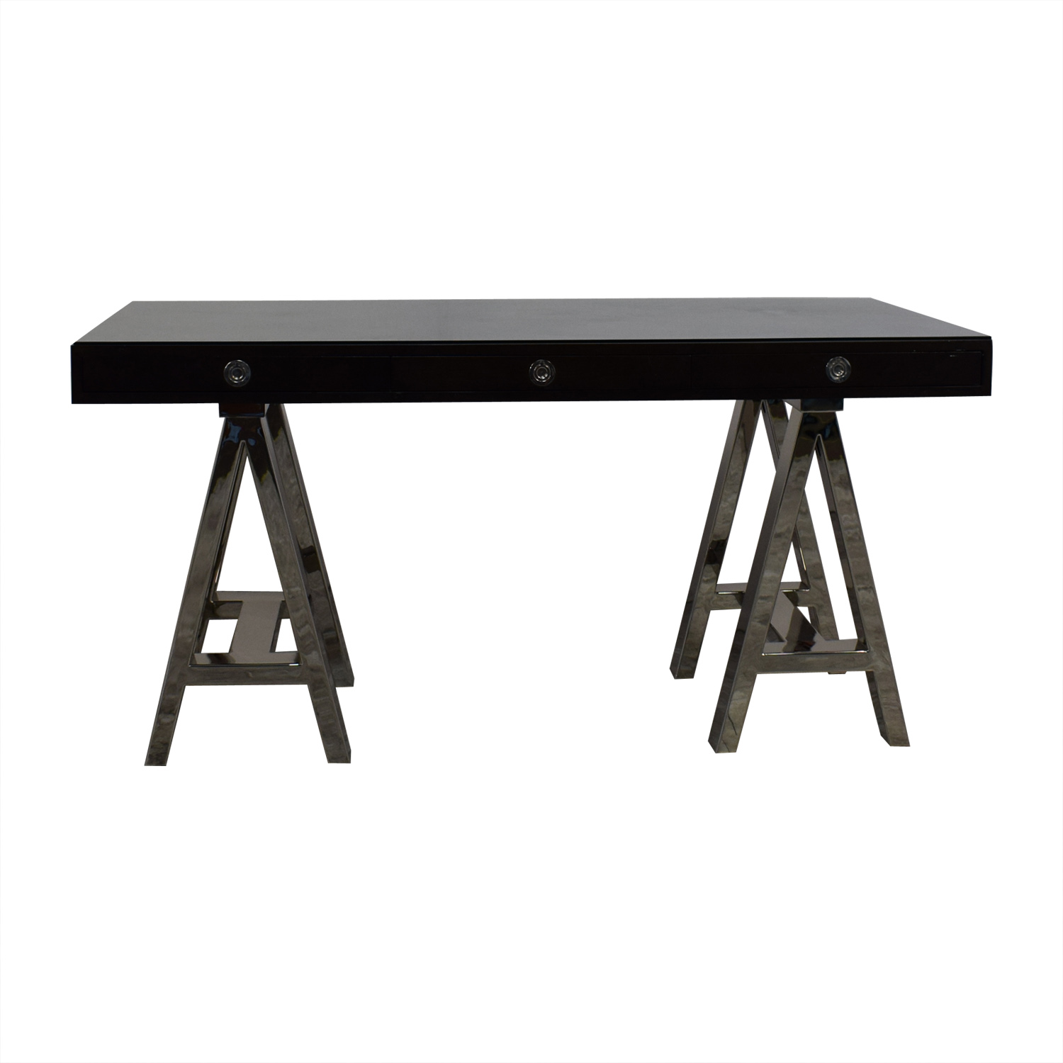 Williams Sonoma Williams Sonoma Mason Wood Top Desk on sale