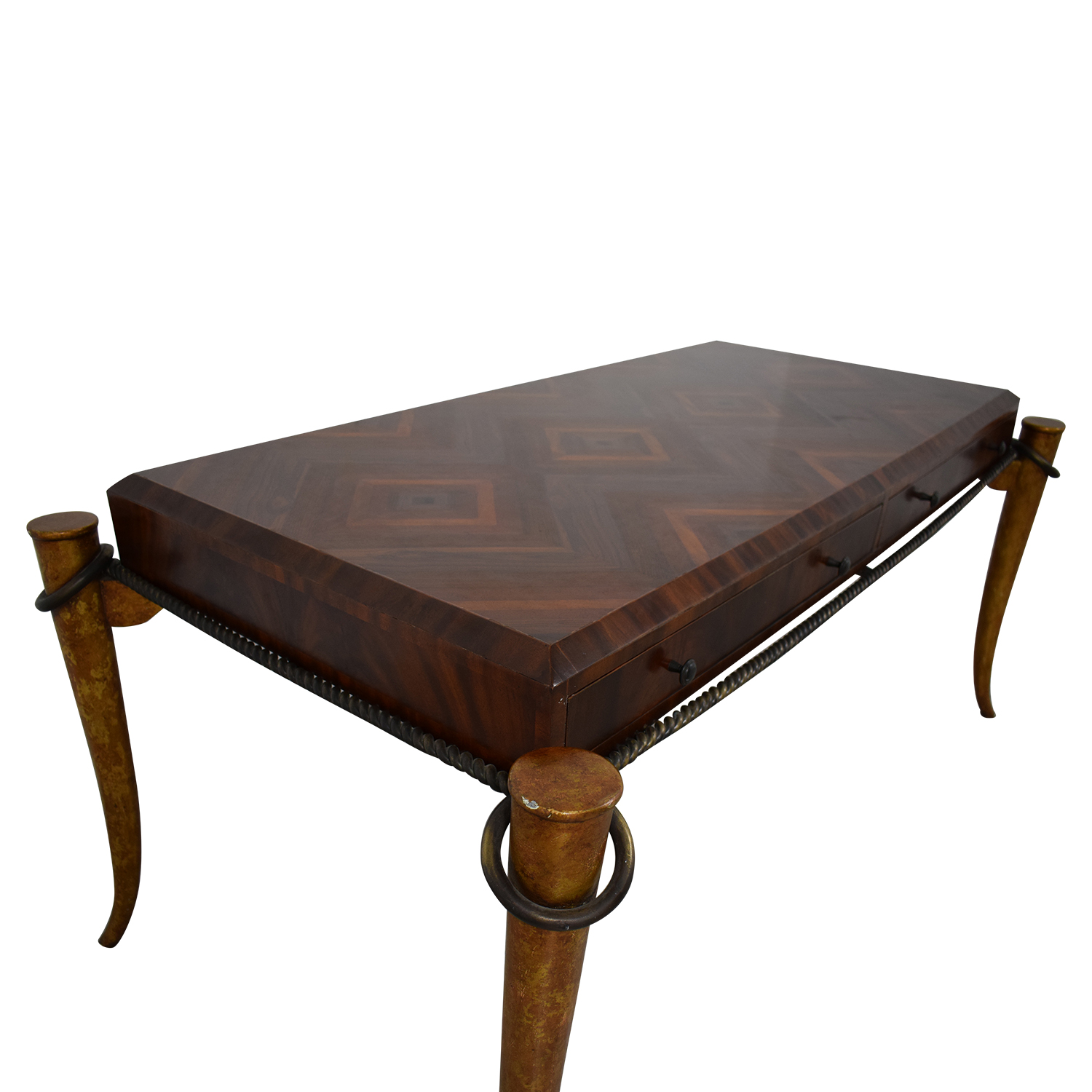 Maitland-Smith Maitland-Smith Rosewood Inlaid Desk discount