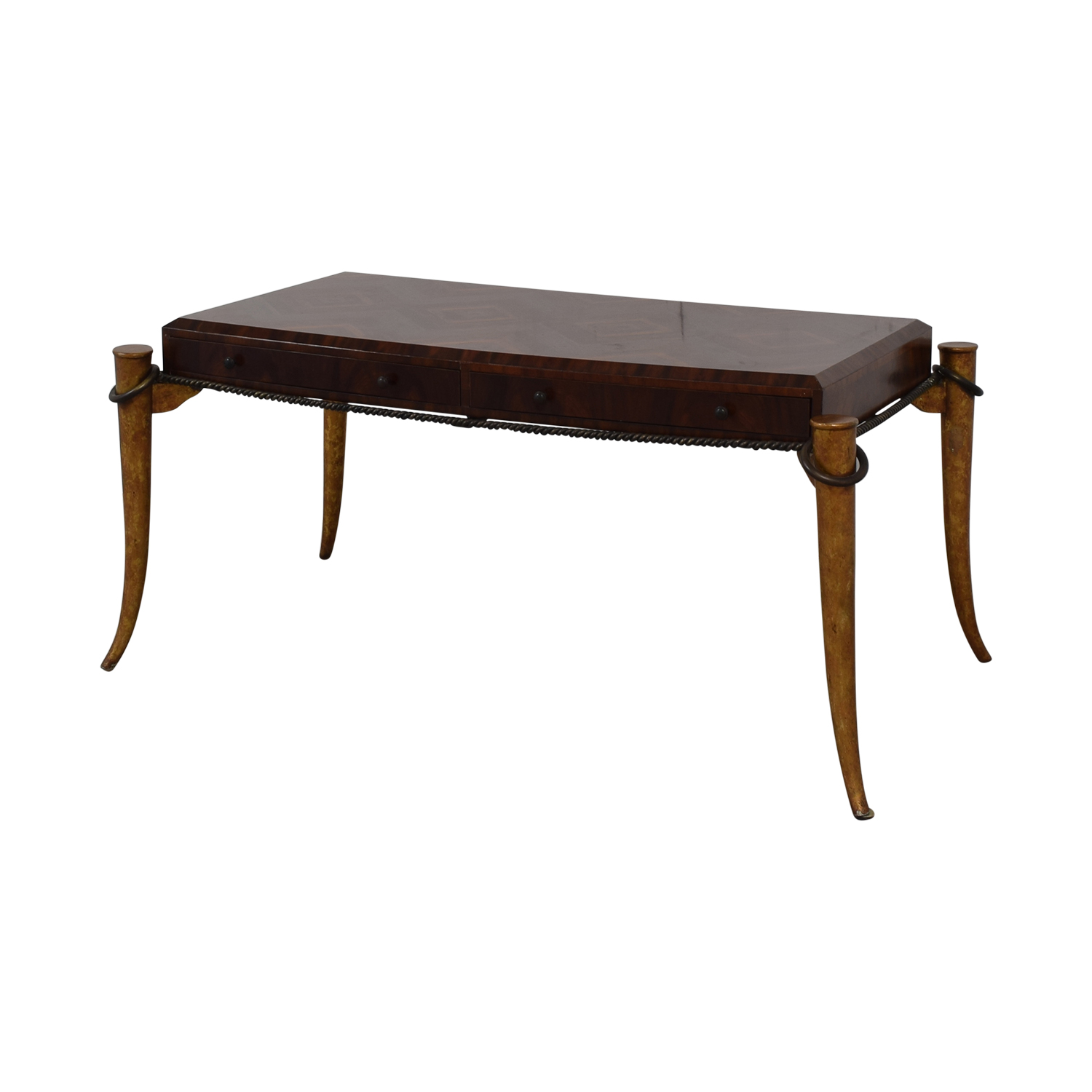 Maitland-Smith Maitland-Smith Rosewood Inlaid Desk brown