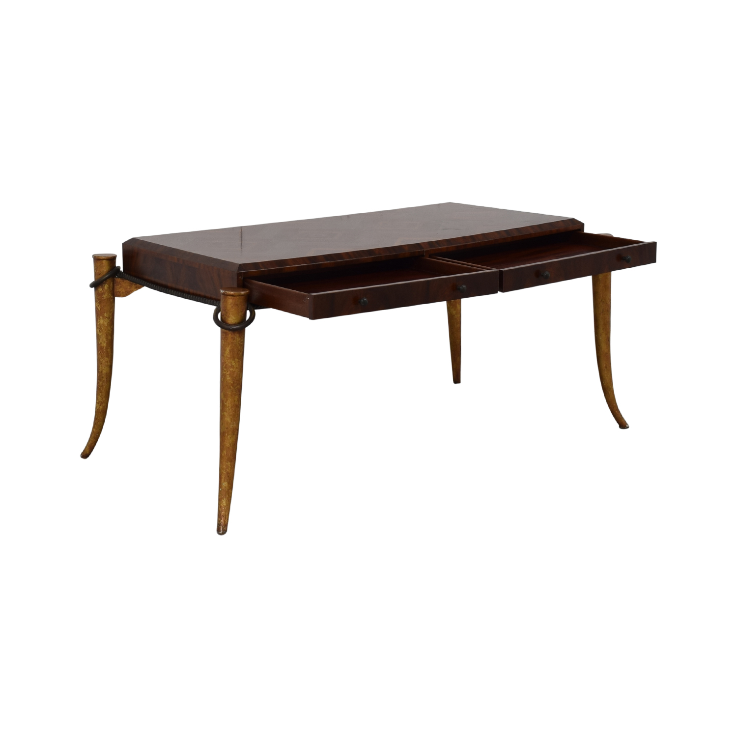 Maitland-Smith Maitland-Smith Rosewood Inlaid Desk dimensions