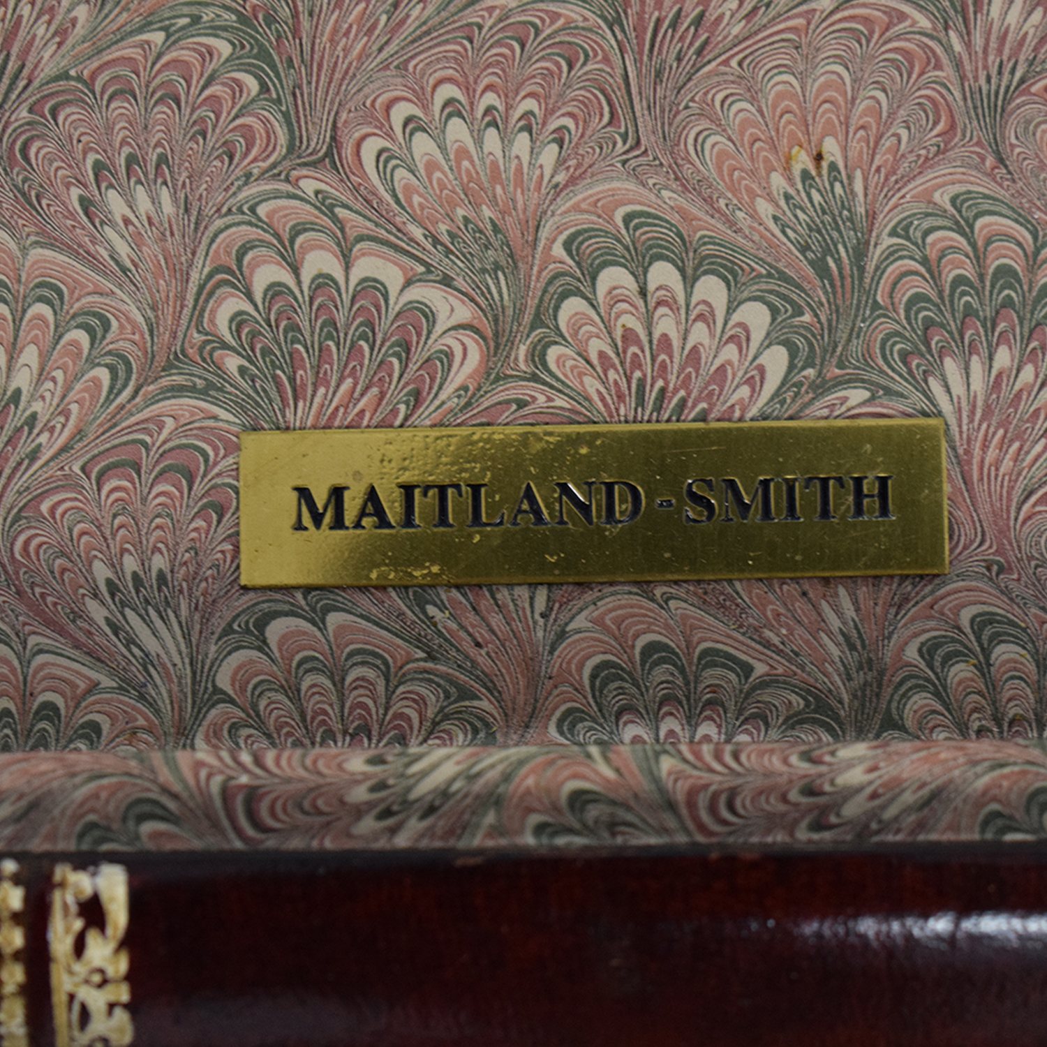 Maitland-Smith Maitland-Smith Stacked Books Style Coffee Table nyc