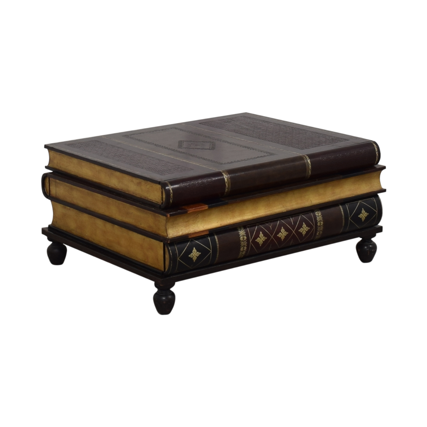 Maitland-Smith Maitland-Smith Stacked Books Style Coffee Table