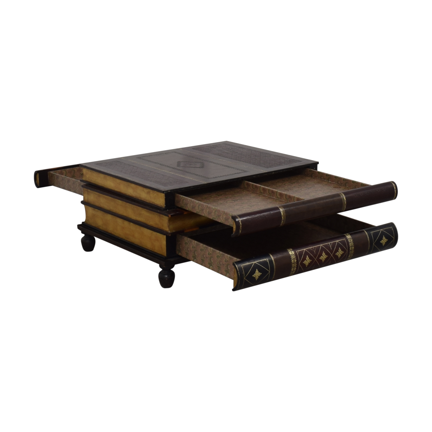 buy Maitland-Smith Stacked Books Style Coffee Table Maitland-Smith