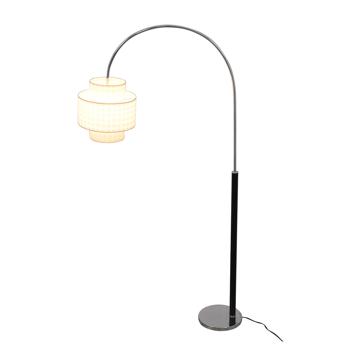 buy  Standing Floor Lamp with Two Section Shade online