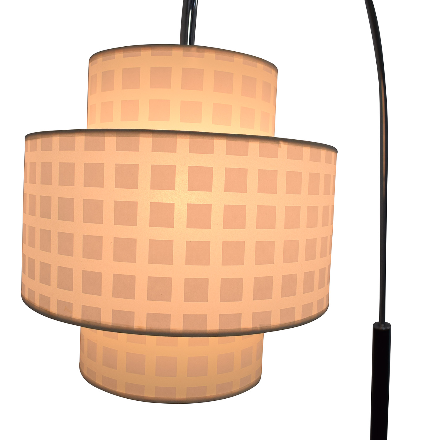 Standing Floor Lamp with Two Section Shade price