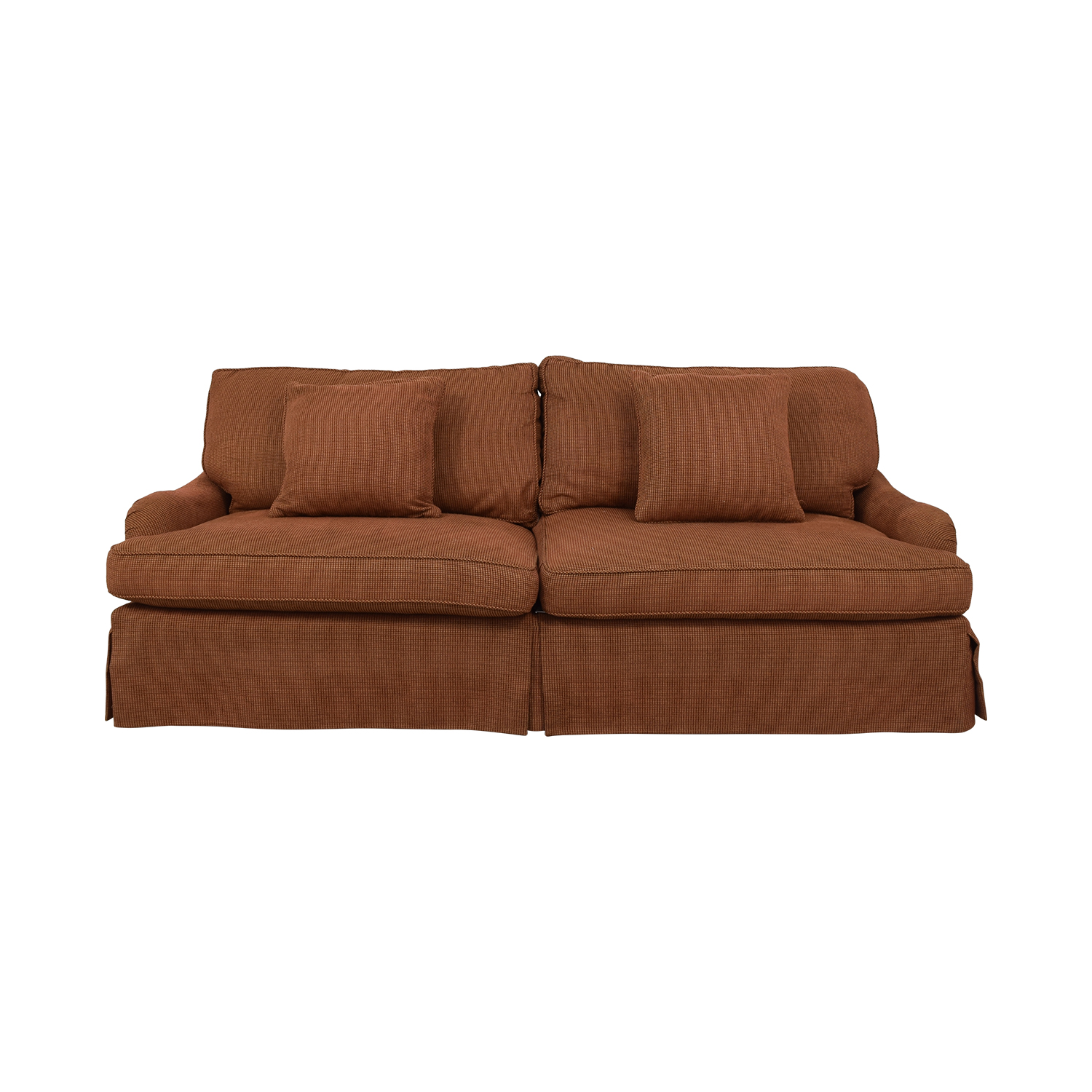 shop Safavieh Long Down Sofa by Lee Industries Safavieh Sofas