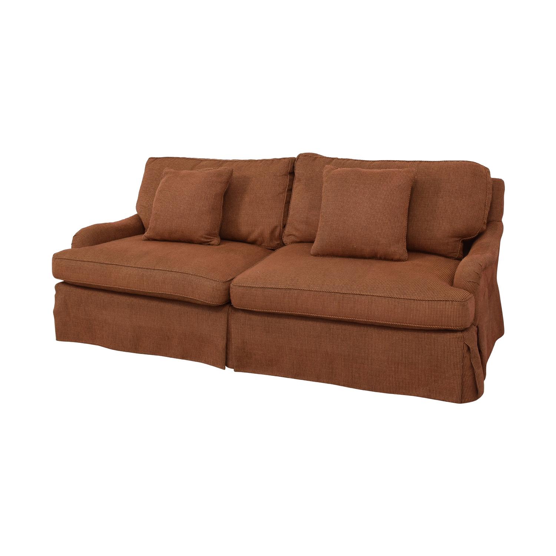 Safavieh Safavieh Long Down Sofa by Lee Industries dimensions