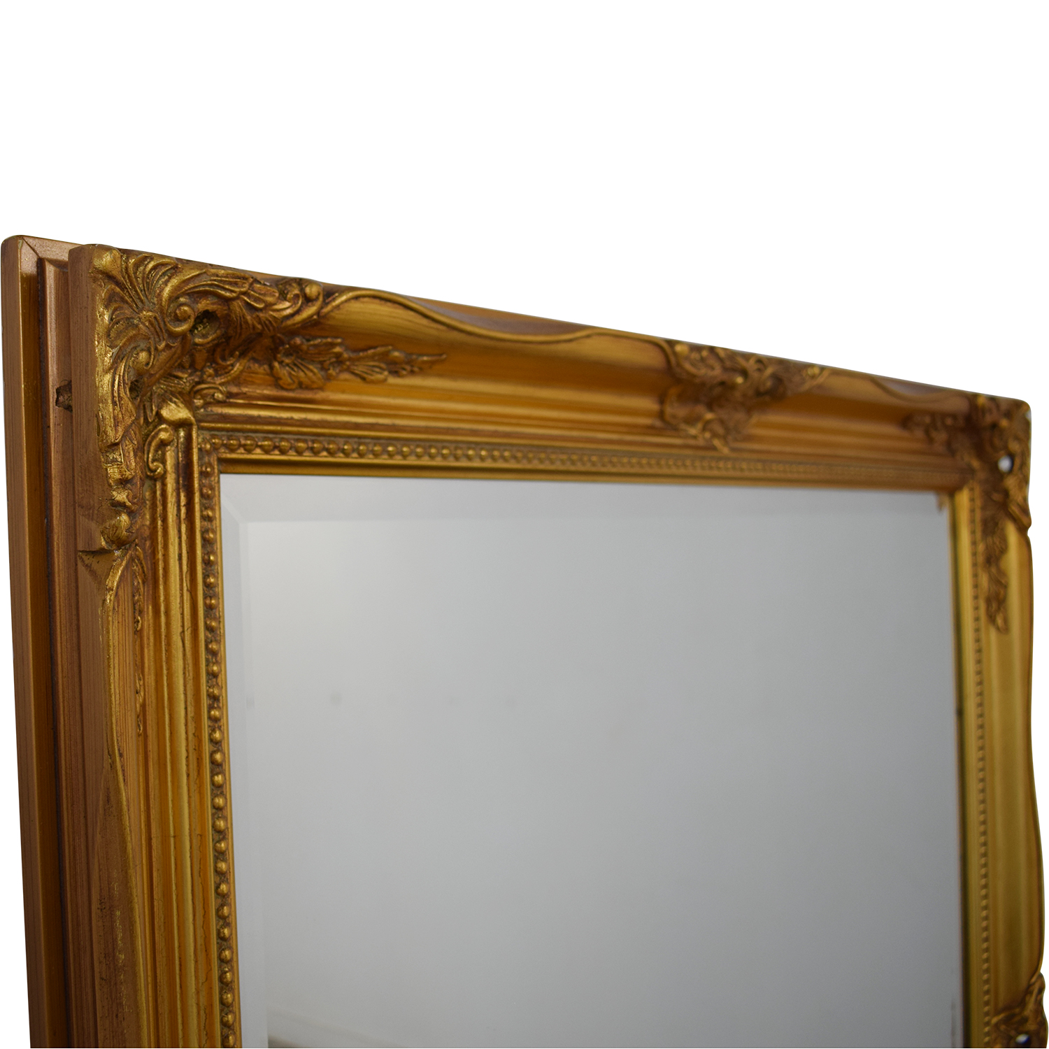 Large Gold Framed Mirror second hand