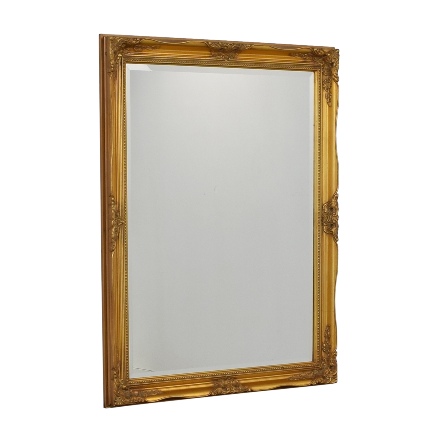 Large Gold Framed Mirror used