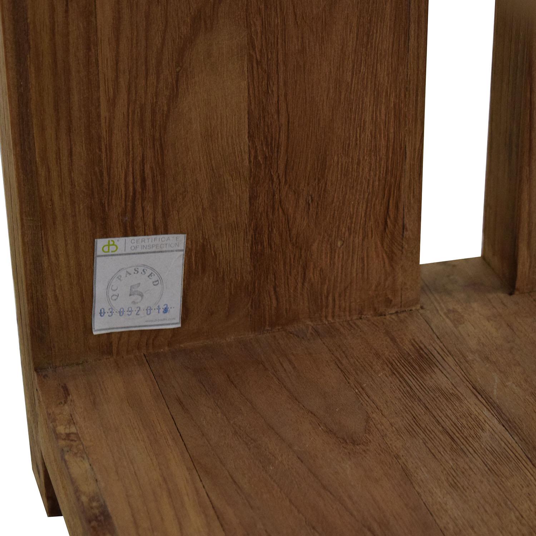 ABC Carpet & Home ABC Carpet & Home Harmony Etagere Bookcases Brown