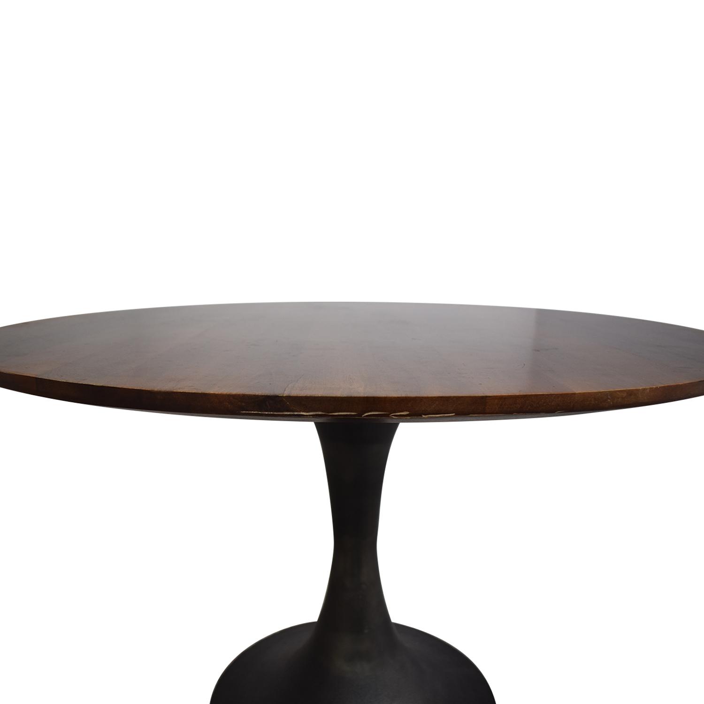 buy West Elm Cast Pedestal Dining Table West Elm Tables