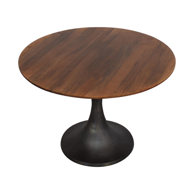 West Elm West Elm Cast Pedestal Dining Table price