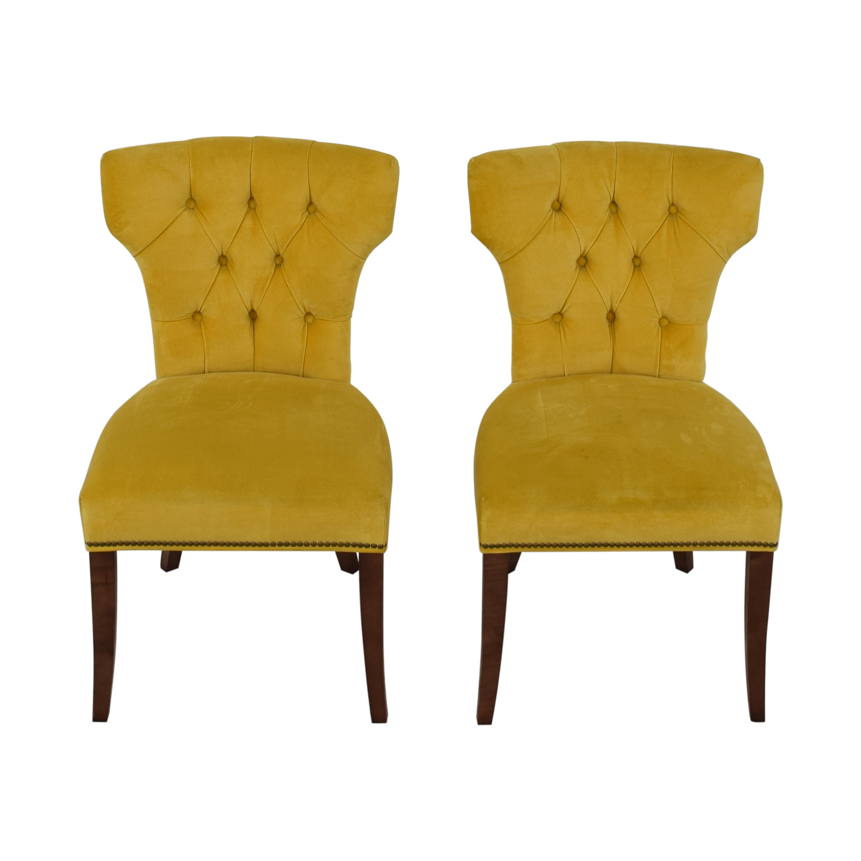 Lillian August Lillian August Farmhouse Yellow Kitchen Chairs