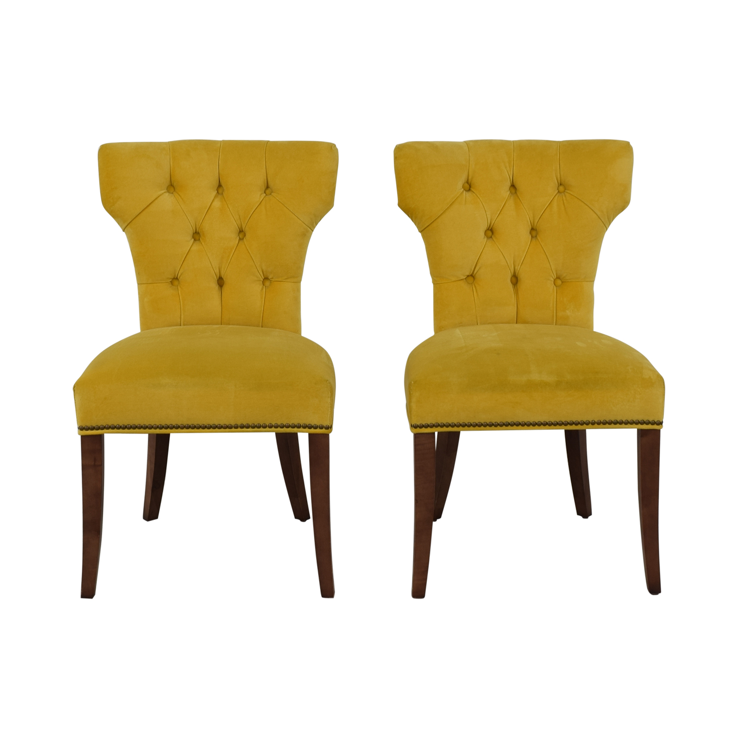 Lillian August Lillian August Farmhouse Yellow Kitchen Chairs