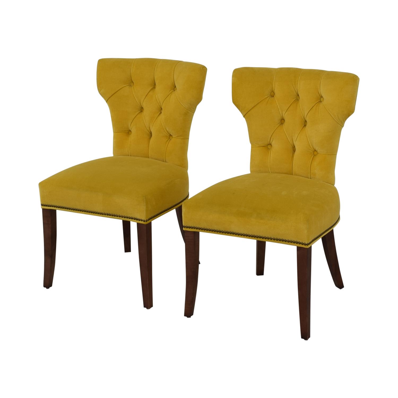 shop Lillian August Lillian August Farmhouse Yellow Kitchen Chairs online