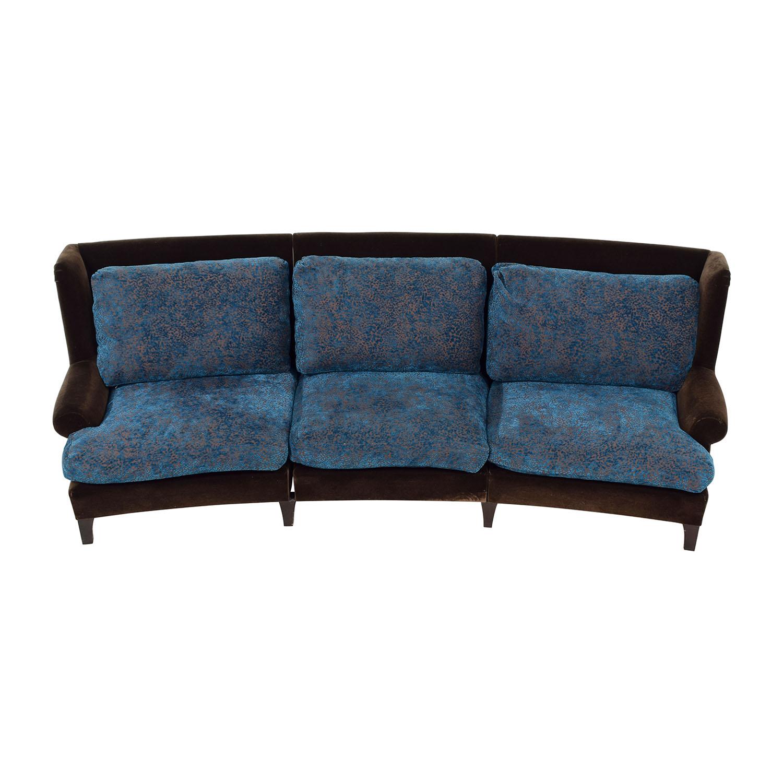 buy Doreen Interiors Curved Sofa Doreen Interiors
