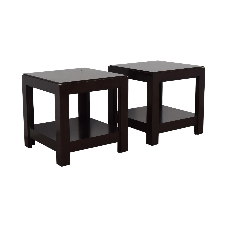 Custom Side Tables used