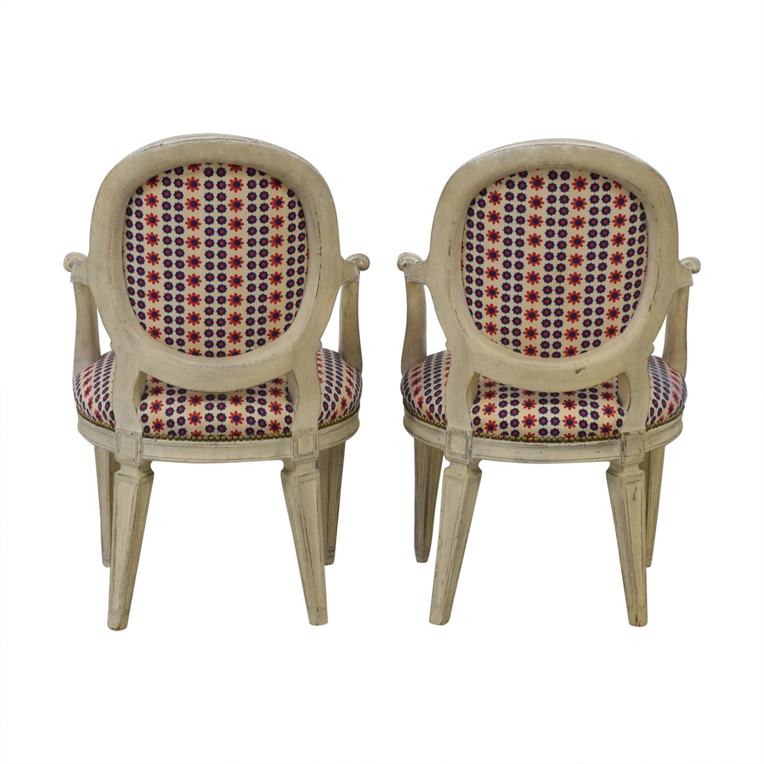French Upholstered Chairs second hand