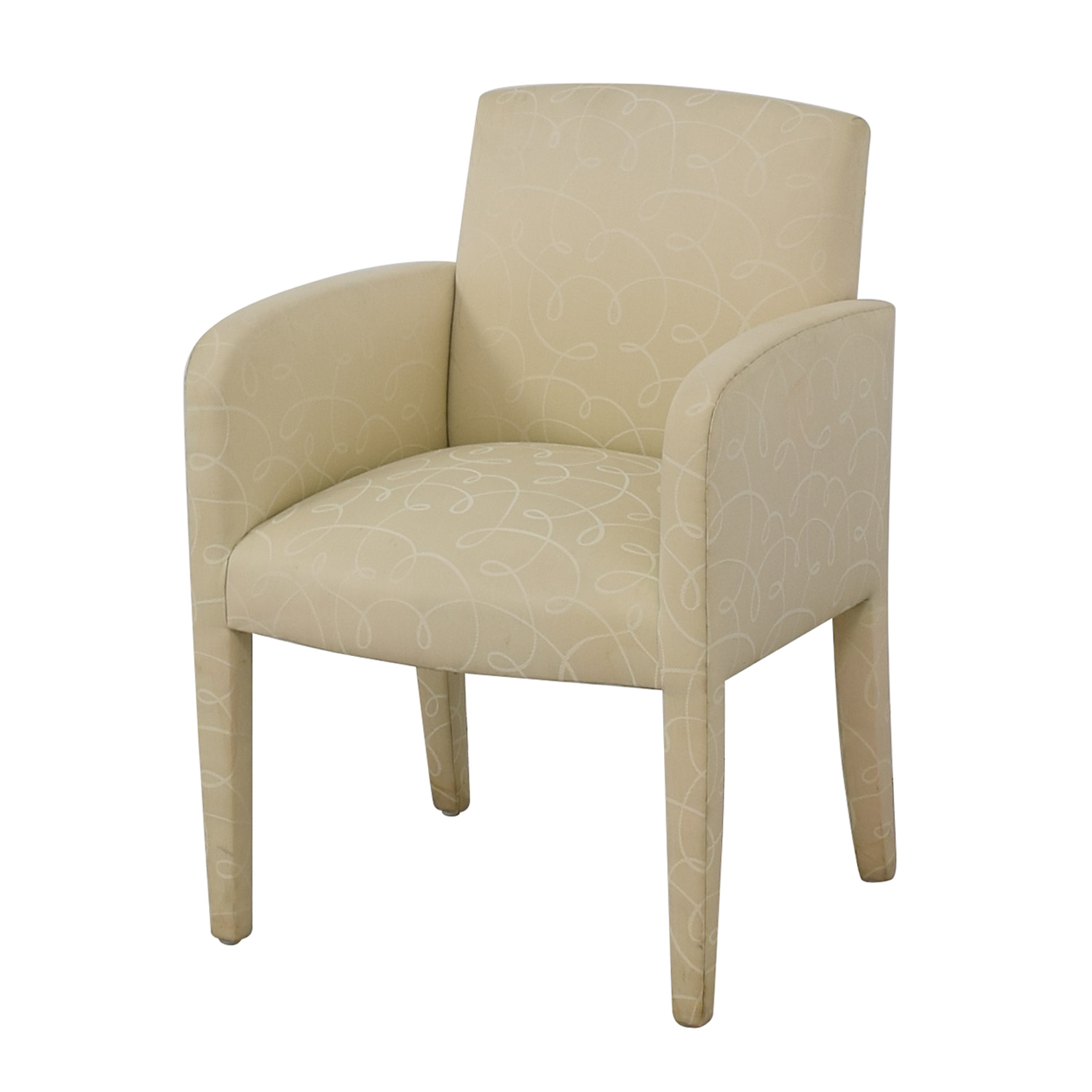 Upholstered Fabric Chair coupon