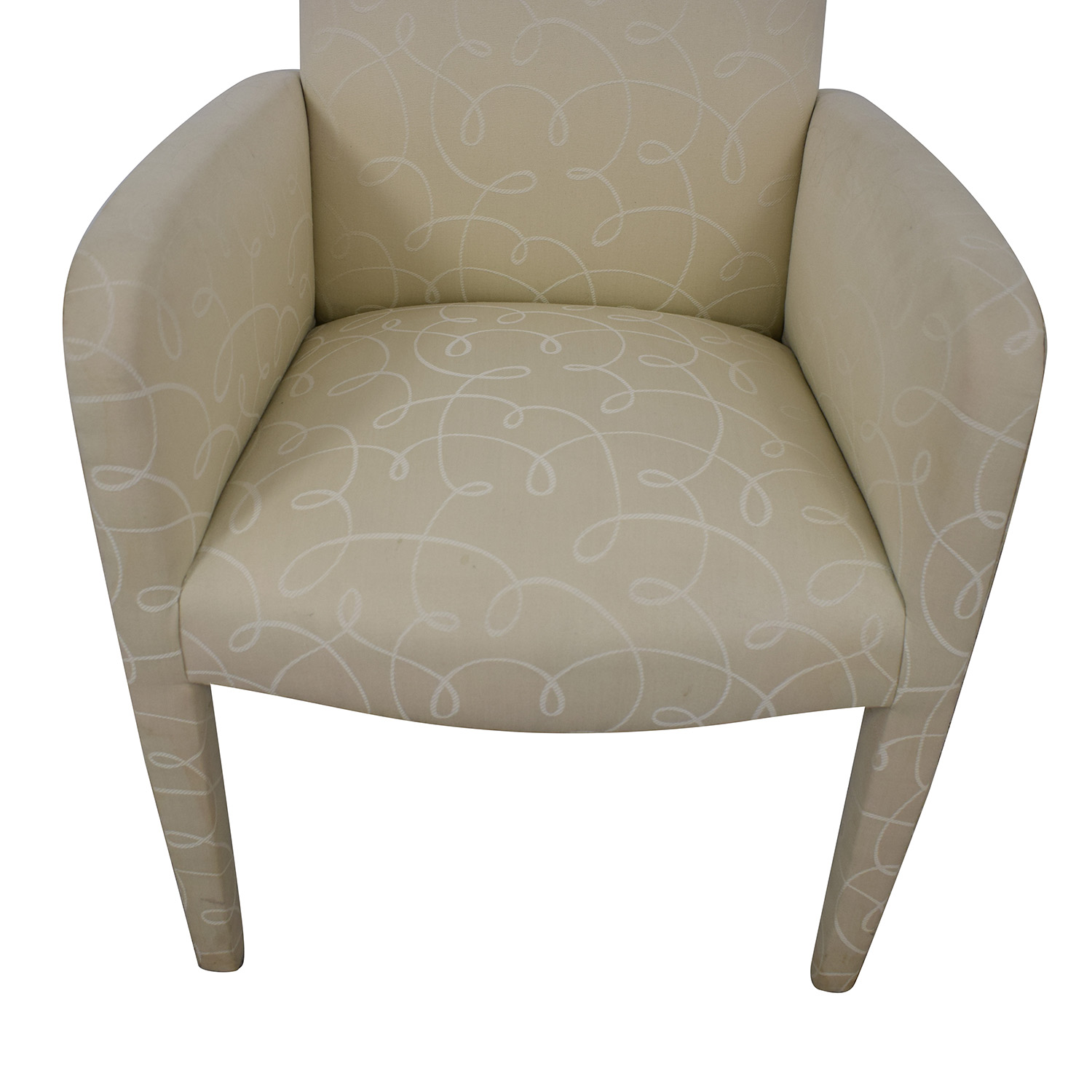 Upholstered Fabric Chair for sale