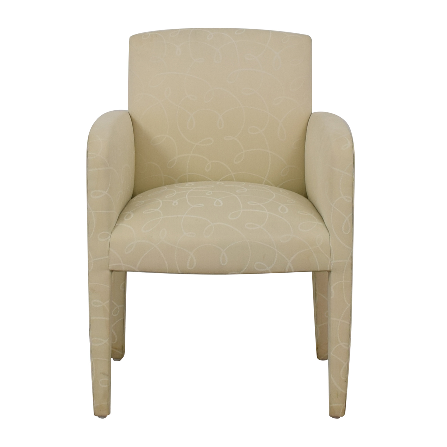Upholstered Fabric Chair