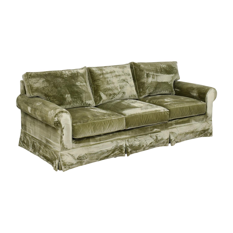 shop Green Velvet Sofa  Classic Sofas