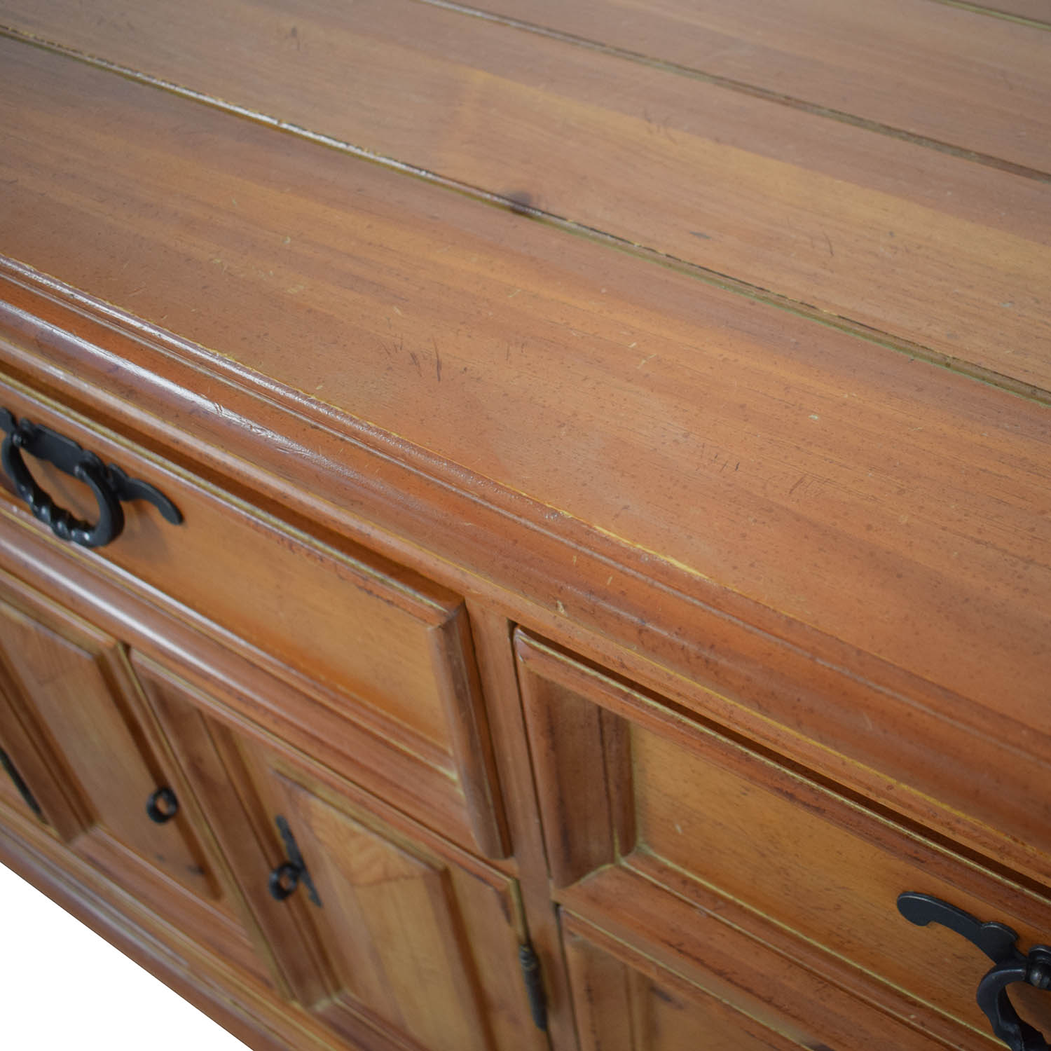 shop Thomasville Thomasville Wood Dresser with Middle Cabinet online