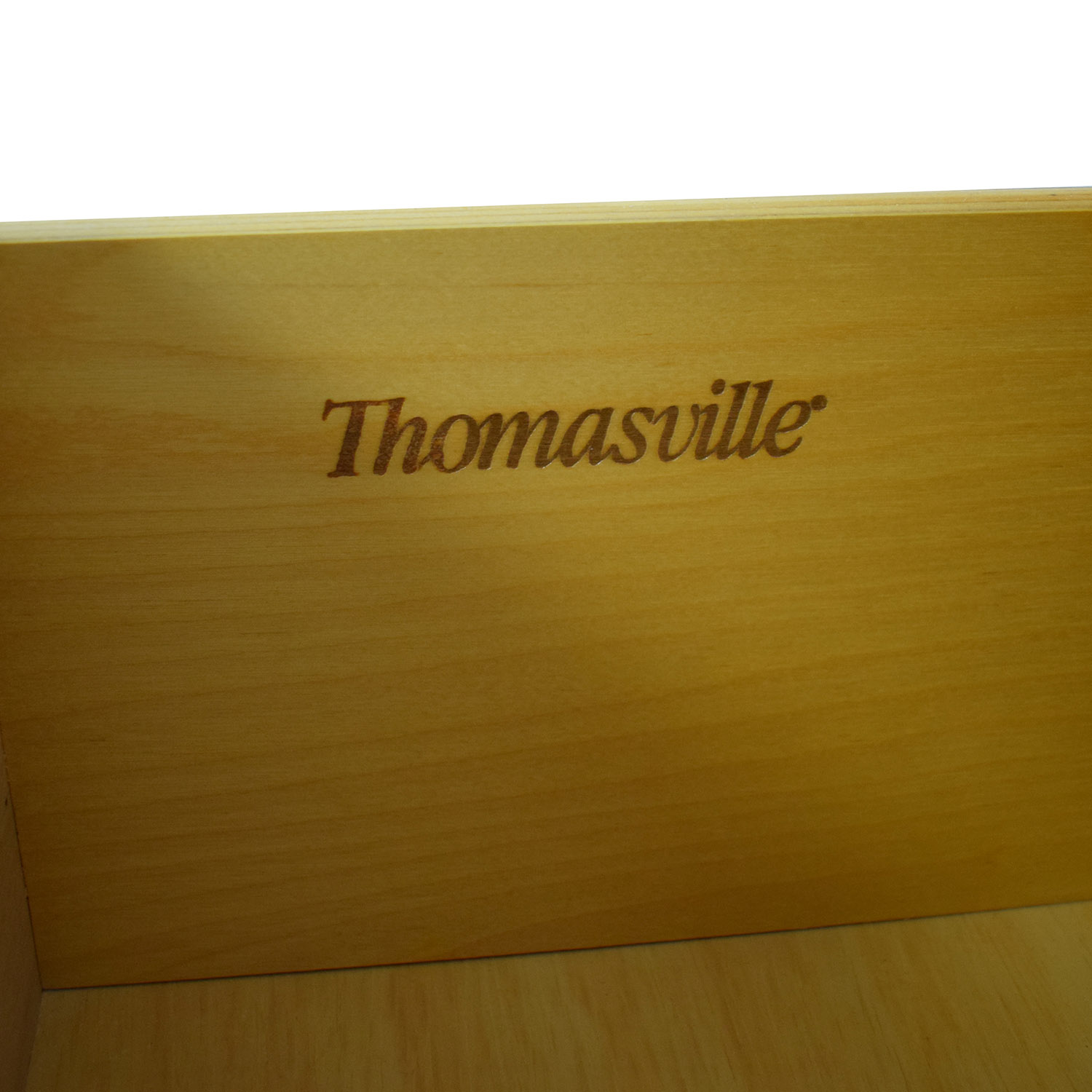 Thomasville Thomasville Wood Dresser with Middle Cabinet used