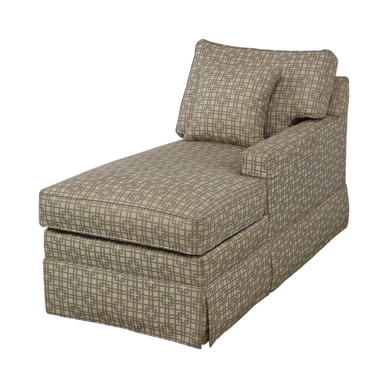Ethan Allen Ethan Allen Lounge Chaise dimensions