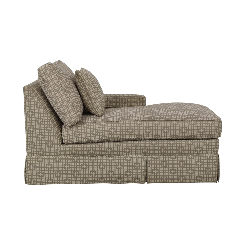 shop Ethan Allen Lounge Chaise Ethan Allen