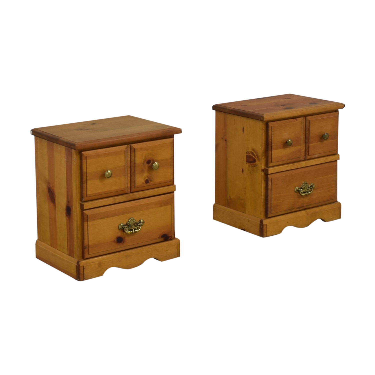 Two Drawer End Tables discount