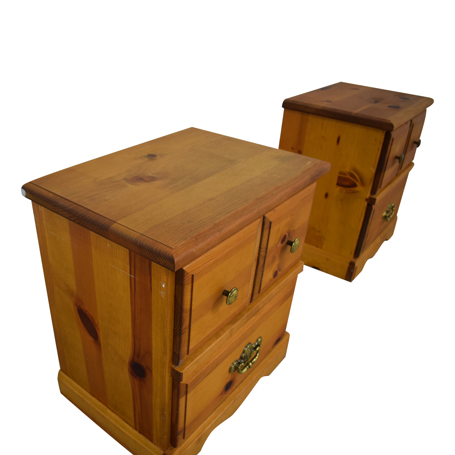 Two Drawer End Tables