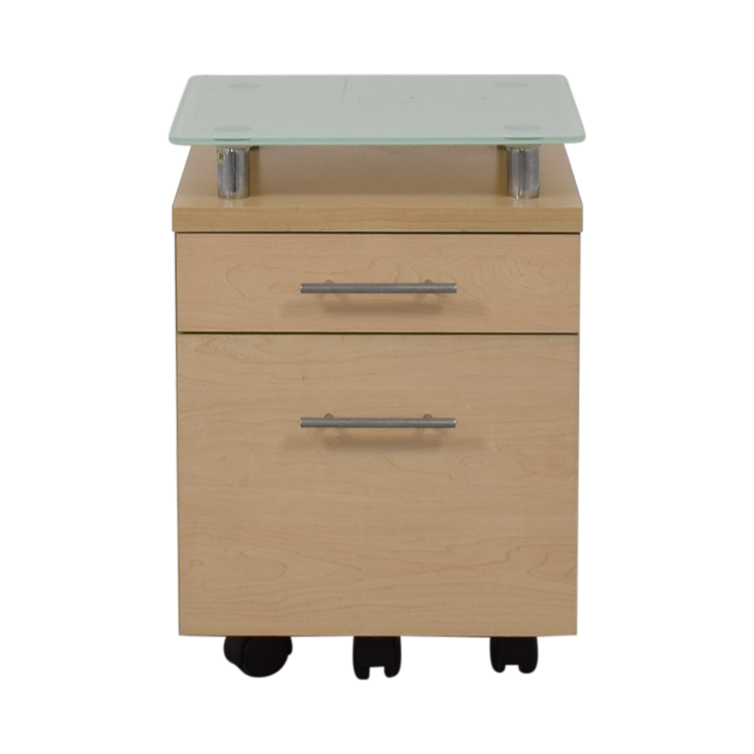 Crate & Barrel Crate & Barrel Glass Top File Cabinet price