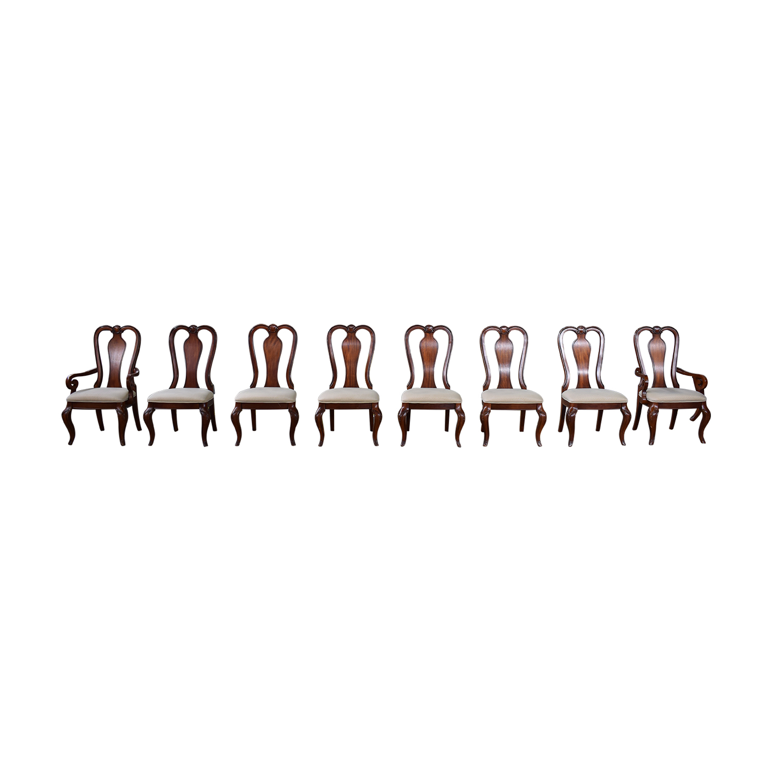 Macy's Macy's Bordeaux Dining Chairs dimensions