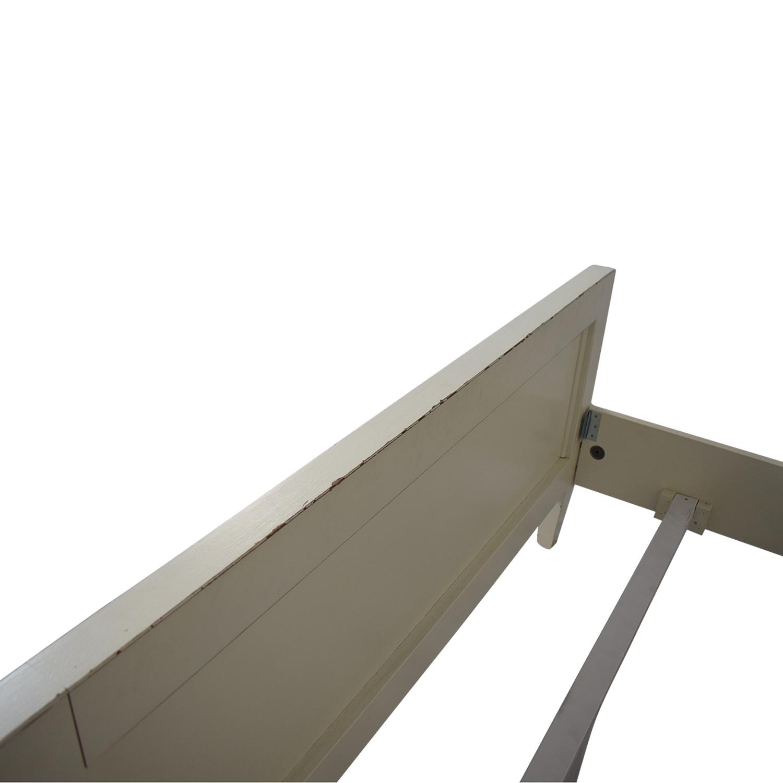 Crate & Barrel Crate & Barrel Buying & Design Harbor Dama Full Bed dimensions