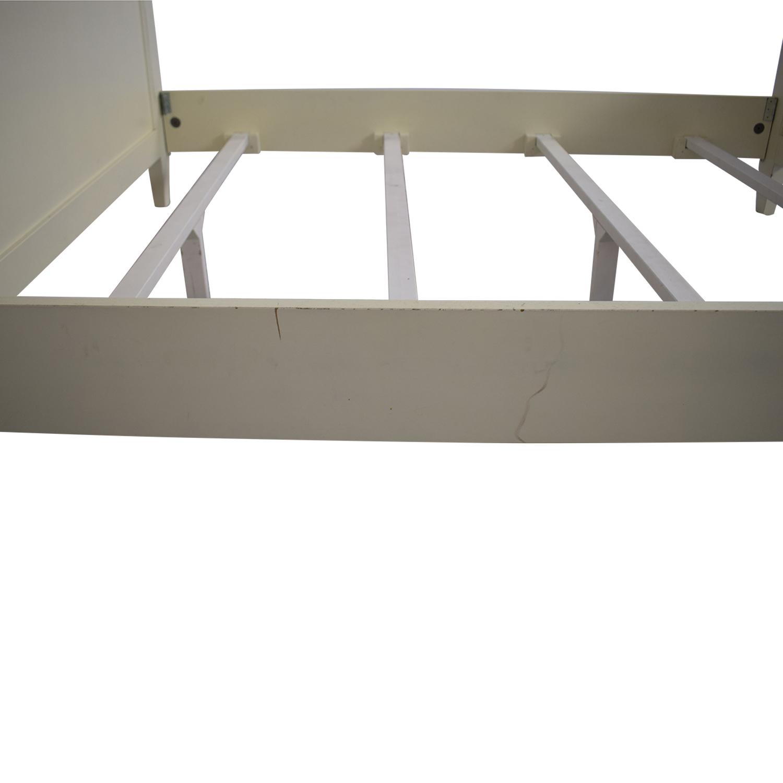 shop Crate & Barrel Buying & Design Harbor Dama Full Bed Crate & Barrel Bed Frames
