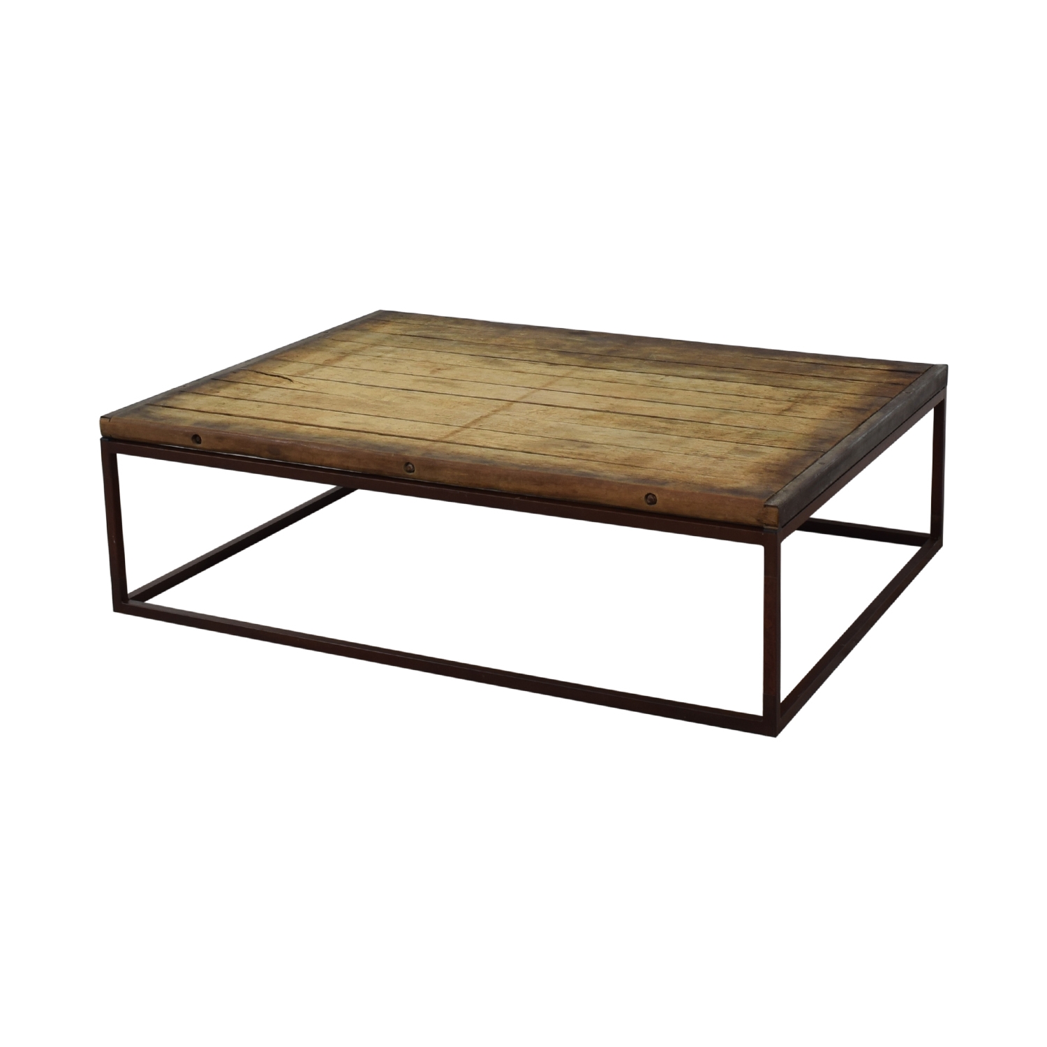 Restoration Hardware Bricklayer's Coffee Table / Coffee Tables