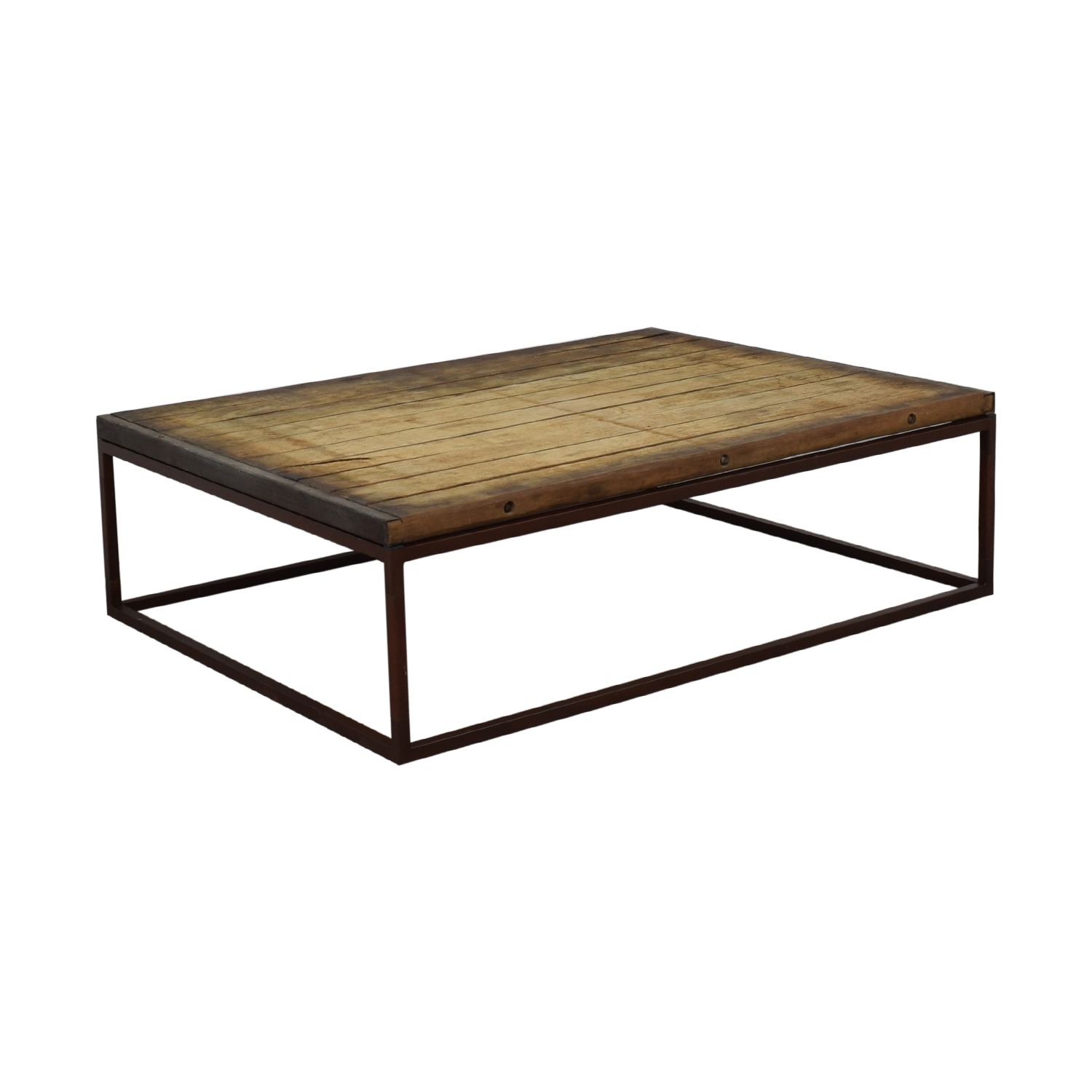 Restoration Hardware Bricklayer's Coffee Table Restoration Hardware