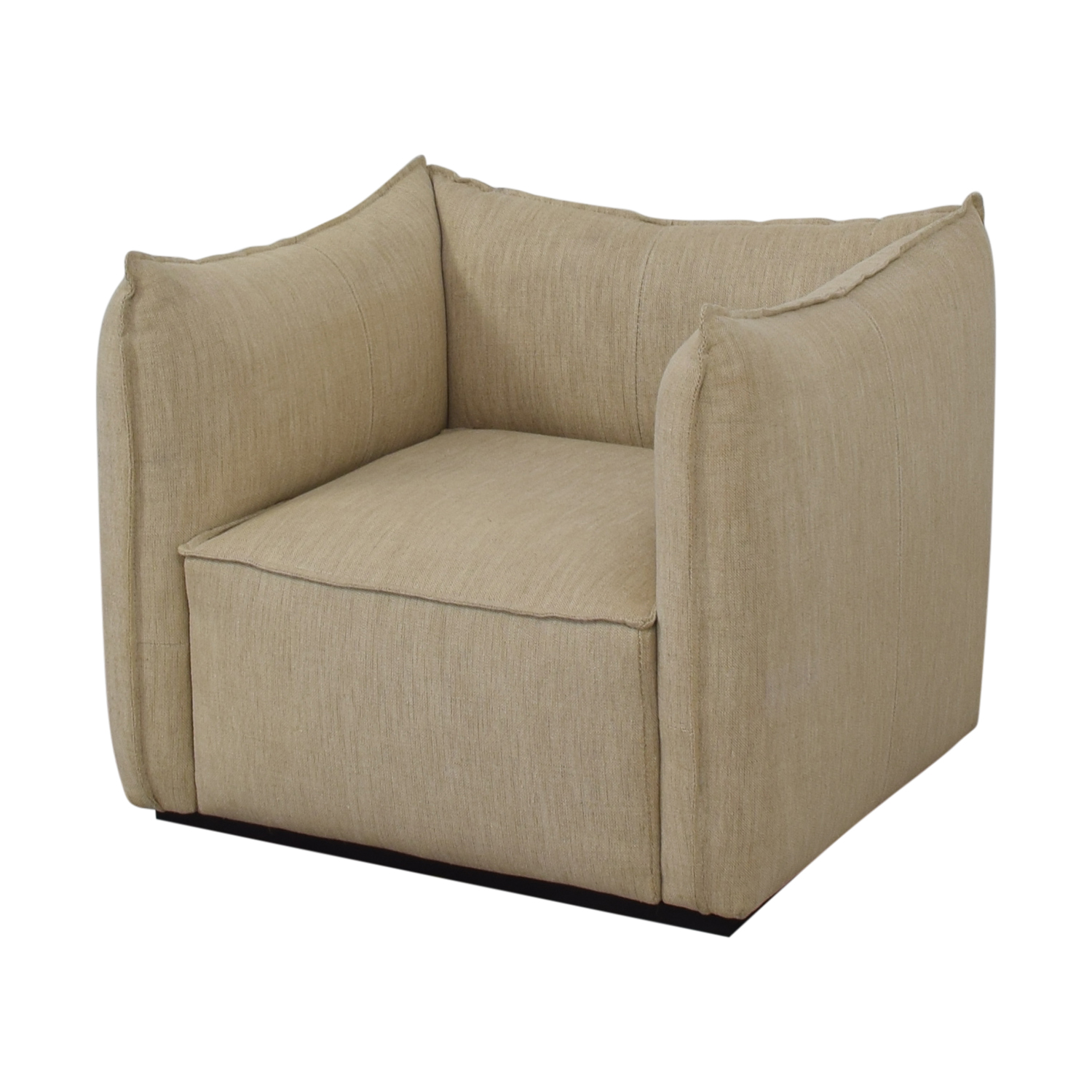 Restoration Hardware Restoration Hardware Peyton Arm Chair beige