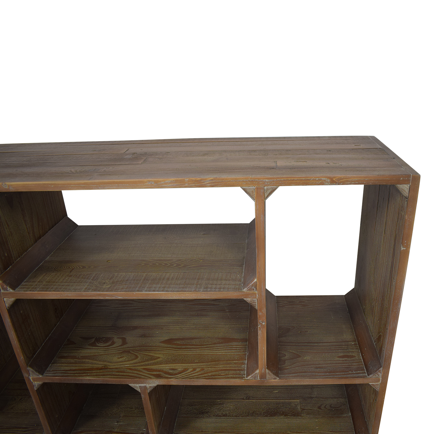 Restoration Hardware Reclaimed Pine Low Bookcase / Bookcases & Shelving